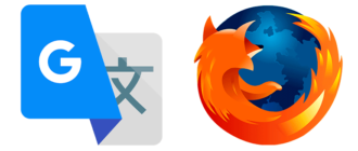 Google Translator для Mozilla Firefox