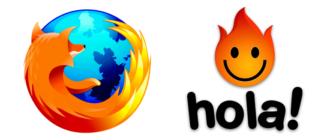 Hola VPN для Mozilla Firefox
