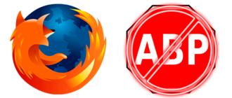 Отключение AdBlock в Mozilla Firefox