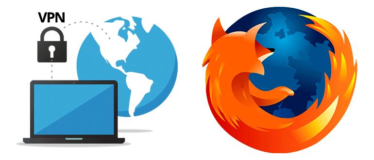 Включить VPN в Mozilla Firefox