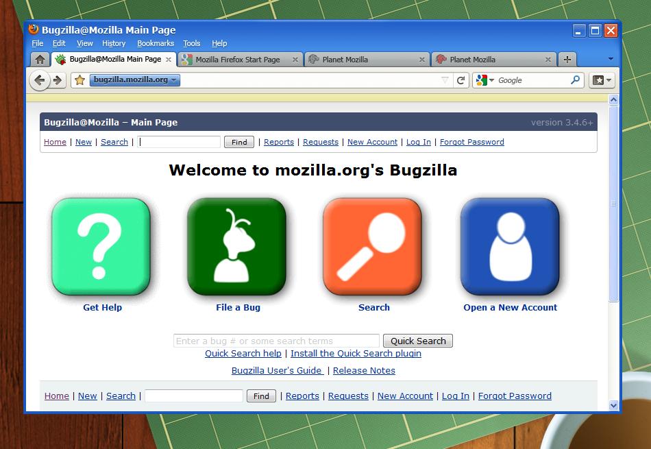 Браузре Мазила на Windows XP
