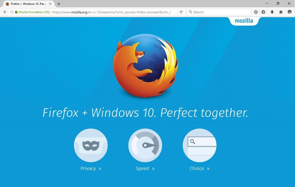 Firefox для компьютера