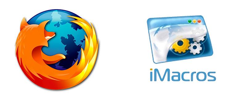 iMacros для Mozilla Firefox