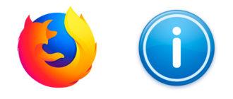 Как узнать версию Firefox установленного на компьютере