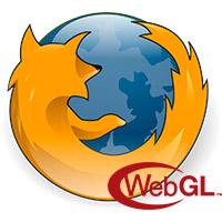Мозила с WebGL