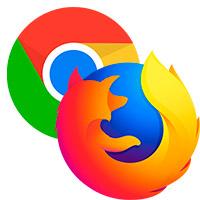 Mozilla Firefox или Google Chrome