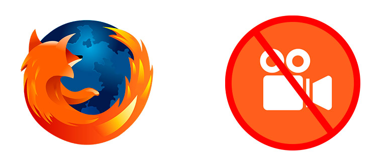Mozilla Firefox не показывает видео