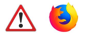 Не работает Firefox - почему и что делать