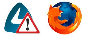 Не работает Frigate в Mozilla Firefox