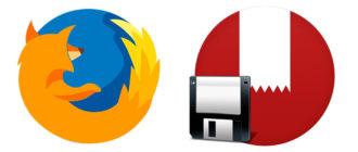 Сохранить закладки в Mozilla Firefox