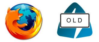 Старая версия Frigate для Mozilla Firefox