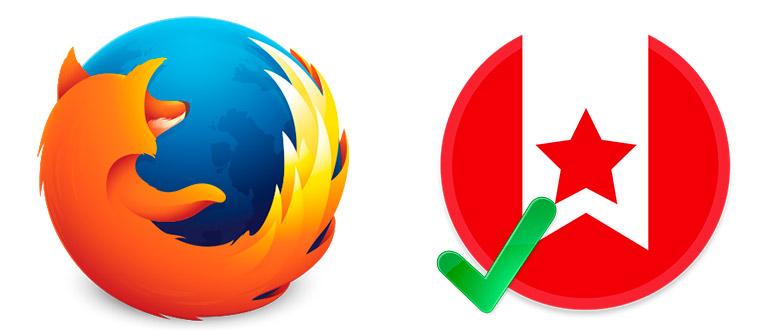 Включить визуальные закладки в Mozilla Firefox